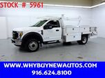 2017 Ford F550 ~ Diesel ~ 12ft Contractor Bed ~ Only 41K Miles!