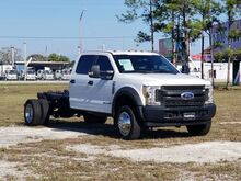 2017_Ford_F550XL Super Duty crew cab_Chassis only_ Homestead FL