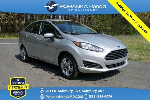 2017_Ford_Fiesta_SE ** Pohanka Certified 10 Year / 100,000 **_ Salisbury MD