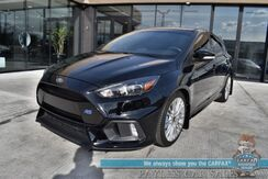 2017_Ford_Focus_RS / 6-Spd Manual / 350 HP / Heated Recaro Seats / Heated Steering wheel / Navigation / Sunroof / Sony Speakers / Bluetooth / Back Up Camera / Keyless Entry & Start / Only 14k Miles / 25 MPG_ Anchorage AK