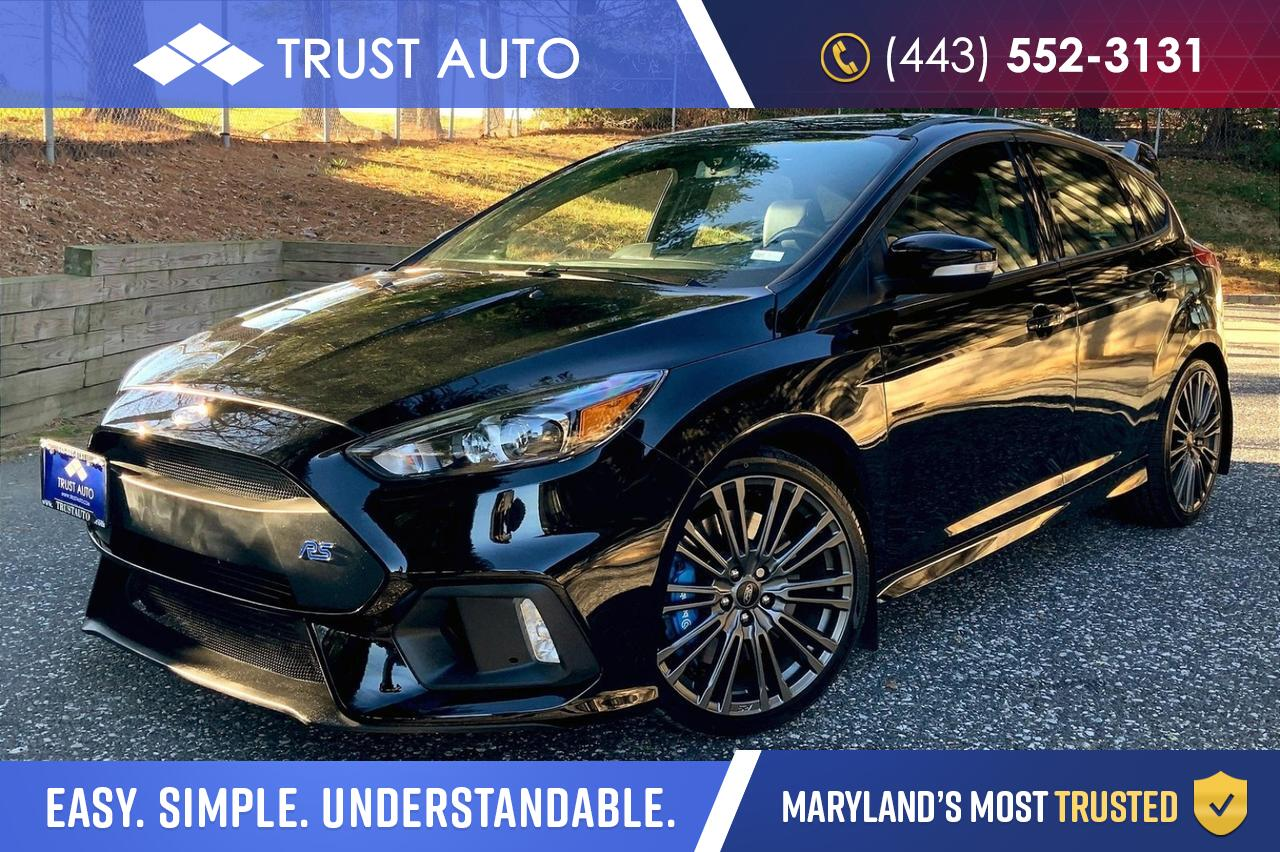 2017 Ford Focus RS AWD Hatchback 6-Speed Manual Sykesville MD