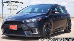 2017_Ford_Focus_RS_ Lubbock TX