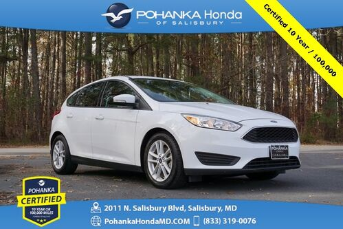 2017_Ford_Focus_SE ** Hatchback ** Pohanka Certified 10 Year / 100,00_ Salisbury MD