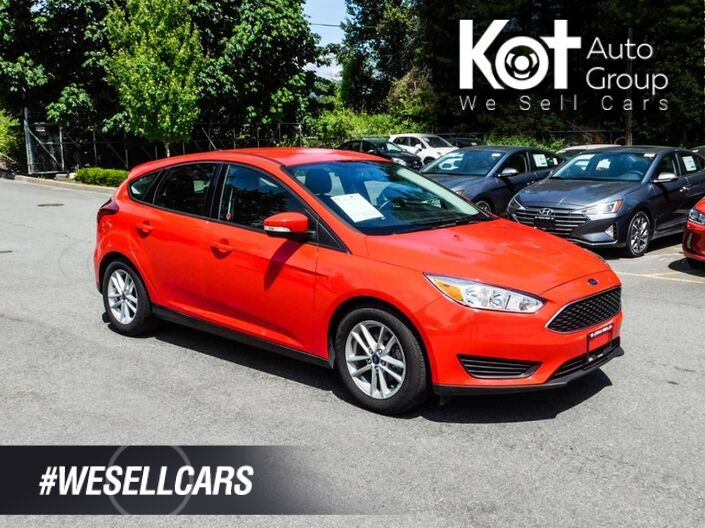 2017 Ford Focus SE Hatchback, Keyless Entry, No Accidents Kelowna BC
