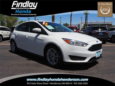 2017 Ford Focus SE Henderson NV