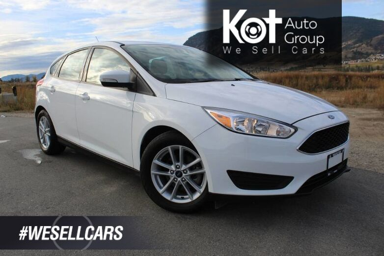 2017 Ford Focus SE, Only 23,612 Km's, No Accidents, Heated Steering Wheel Kelowna BC