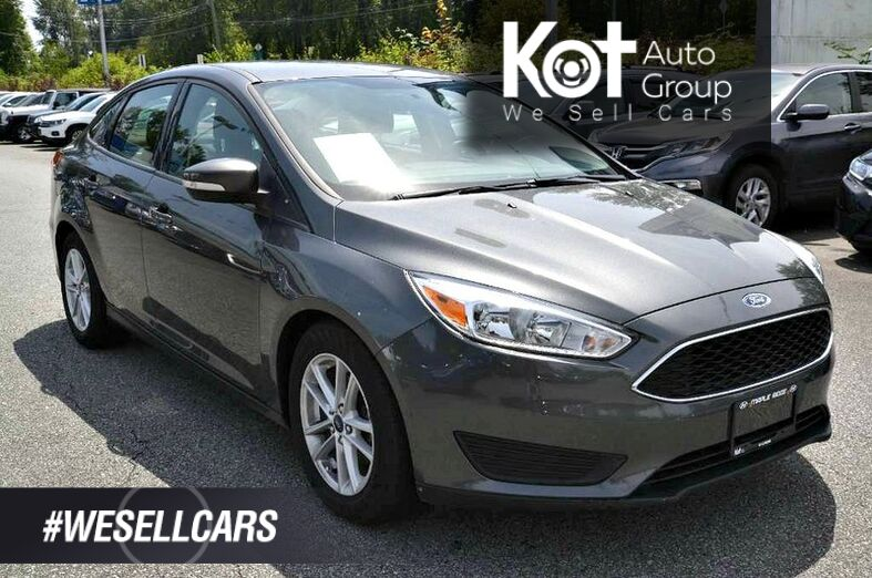 2017 Ford Focus SE! SPORTS EDITION! AUTOMATIC! LOW KMS! 1 OWNER! Kelowna BC