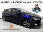 2017 Ford Focus ST *6-SPEED, BACKUP-CAMERA, STEERING WHEEL CONTROLS, BLUETOOTH PHONE & AUDIO