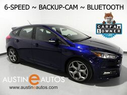 2017_Ford_Focus ST_*6-SPEED, BACKUP-CAMERA, STEERING WHEEL CONTROLS, BLUETOOTH PHONE & AUDIO_ Round Rock TX