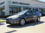 2017 Ford Focus Titanium Hatch NAV, SUNROOF, BACKUP CAM, BLUETOOTH, HTD SEATS, APPE CAR PLAY, PUSH BUTTON, SAT RADIO