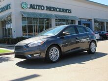 2017_Ford_Focus_Titanium Hatch NAV, SUNROOF, BACKUP CAM, BLUETOOTH, HTD SEATS, APPE CAR PLAY, PUSH BUTTON, SAT RADIO_ Plano TX
