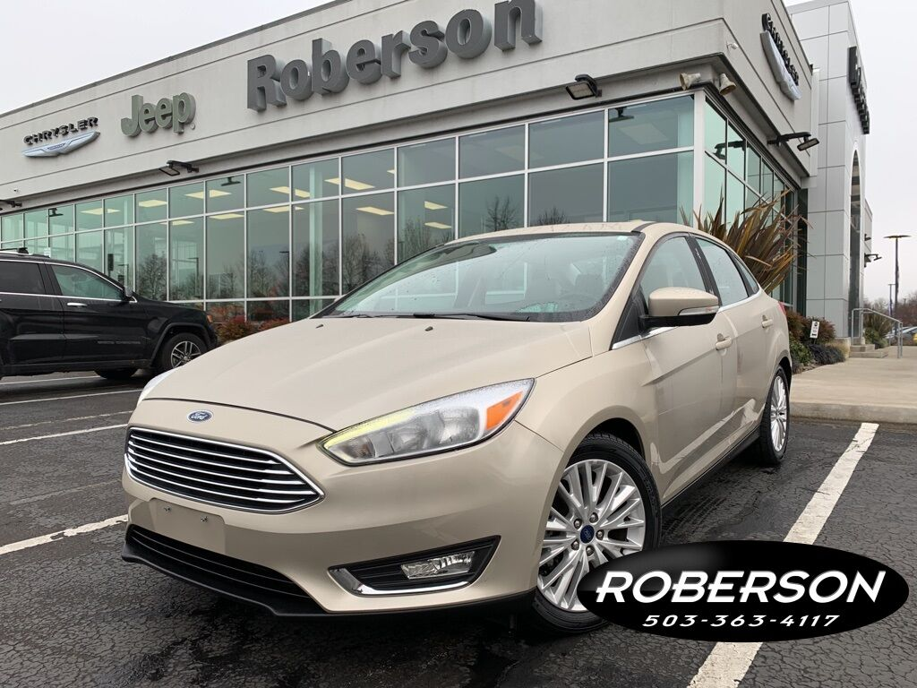 2017 Ford Focus Titanium Salem OR