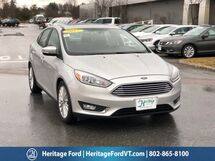 2017 Ford Focus Titanium South Burlington VT