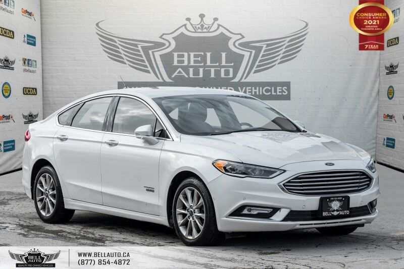2017 Ford Fusion Energi SE Luxury, NO ACCIDENTS, REAR CAM, B. SPOT, LEATHER Toronto ON