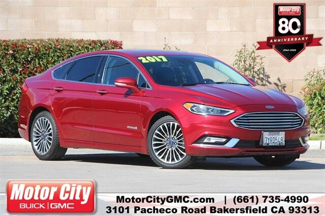 2017 Ford Fusion Hybrid Titanium Bakersfield CA