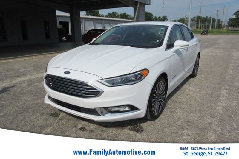 Ford Fusion St >> 2017 Ford Fusion Hybrid Titanium Fwd