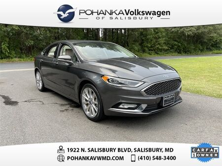 2017_Ford_Fusion_Platinum AWD_ Salisbury MD