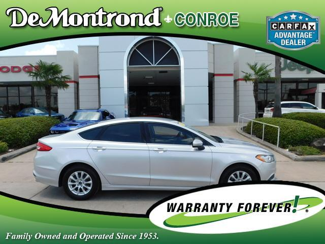 2017 Ford Fusion S FWD Conroe TX