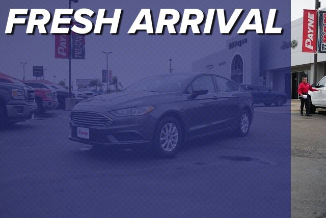 2017 Ford Fusion S Mission TX