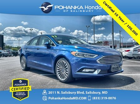 2017_Ford_Fusion_SE ** Pohanka Certified 10 Year / 100,000 **_ Salisbury MD