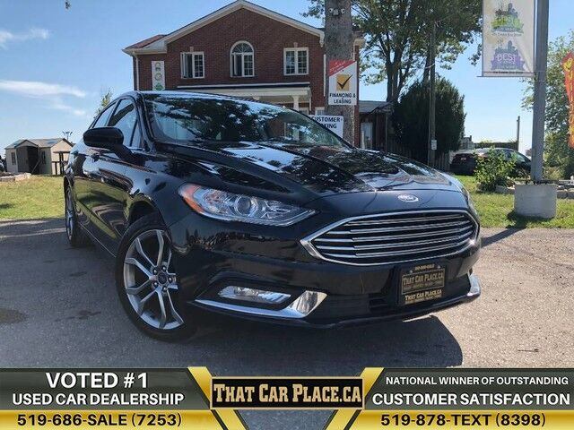 2017 Ford Fusion SE-$58wk-Sunroof-LeathrSts-Alloys-LOWkm London ON