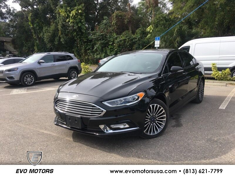 2017 Ford Fusion SE AWD 2.0 TURBO. LEATHER. NAVI Seffner FL