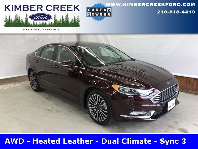2017 Ford Fusion SE AWD Pine River MN