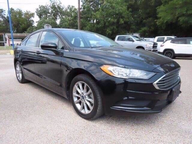 2017 Ford Fusion SE Marble Falls TX