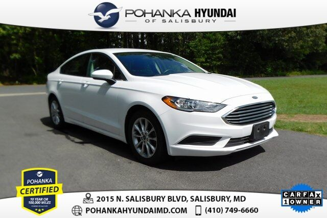 2017 Ford Fusion SE **ONE OWNER** Salisbury MD