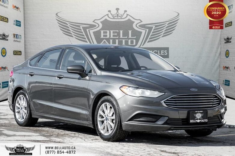 2017 Ford Fusion SE, REAR CAM, BLUETOOTH, PUSH START, PWR SEAT, ALLOY Toronto ON