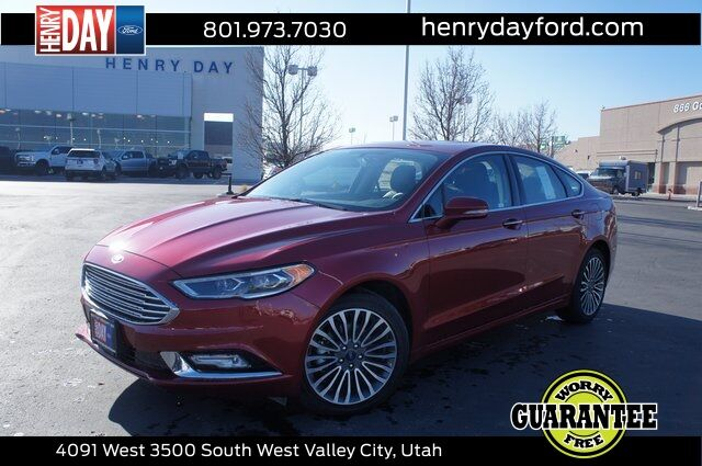 2017_Ford_Fusion_SE_ West Valley City UT