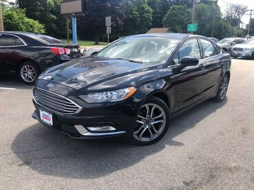 2017_Ford_Fusion_SE_ Worcester MA