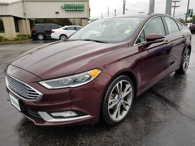 2017 Ford Fusion Titanium Fort Wayne Auburn and Kendallville IN
