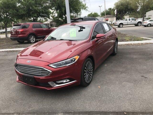 2017 Ford Fusion Titanium Gainesville FL