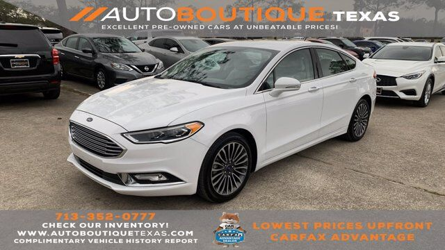 2017 Ford Fusion Titanium Houston TX