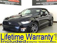 Ford MUSTANG CONVERTIBLE ECOBOOST PREMIUM LEATHER HEATED/COOLED SEATS REAR CAMERA APPLE CARPLAY 2017