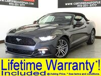 Ford MUSTANG CONVERTIBLE ECOBOOST PREMIUM LEATHER HEATED/COOLED SEATS REAR CAMERA B 2017