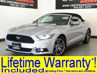 Ford MUSTANG CONVERTIBLE ECOBOOST PREMIUM LEATHER HEATED/COOLED SEATS REAR CAMERA BLUETOOTH SHAKER 2017