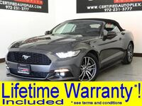 Ford MUSTANG CONVERTIBLE ECOBOOST PREMIUM NAVIGATION VIA APPLE CARPLAY ANDROID AUTO LEATHER 2017