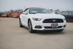 2017_Ford_Mustang_ECOBOOST PREMIUM CONVERTIBLE_ Wichita Falls TX