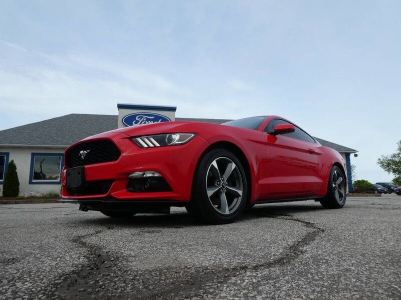 2017 Ford Mustang EcoBoost Premium- LEATHER- MANUAL- FASTBACK Essex ON
