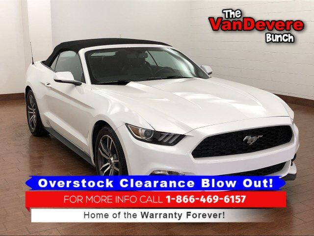 2017 Ford Mustang EcoBoost Premium Akron OH
