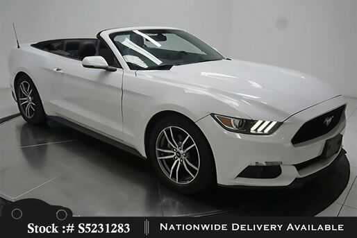 2017_Ford_Mustang_EcoBoost Premium Convertible CAM,CLMT STS_ Plano TX