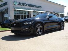 2017_Ford_Mustang_EcoBoost Premium Convertible LEATHER, NAVIGATION, HTD/CLD SEATS, BACKUP CAMERA, KEYLESS START_ Plano TX