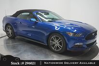 Ford Mustang EcoBoost Premium Convertible NAV,CAM,CLMT STS 2017