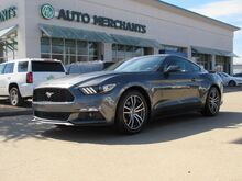 2017_Ford_Mustang_EcoBoost Premium Coupe 2.3L 4CYL TURBO, AUTOMATIC, LEATHER, SHAKER PREMIUM STEREO, BACKUP CAMERA_ Plano TX
