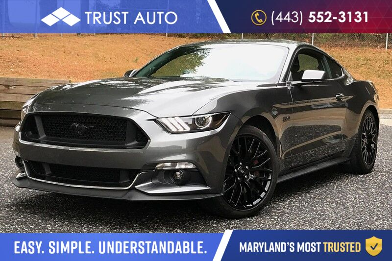 2017 Ford Mustang GT Fastback 5.0L V8 Coyote Sport Coupe 6-Speed Manual