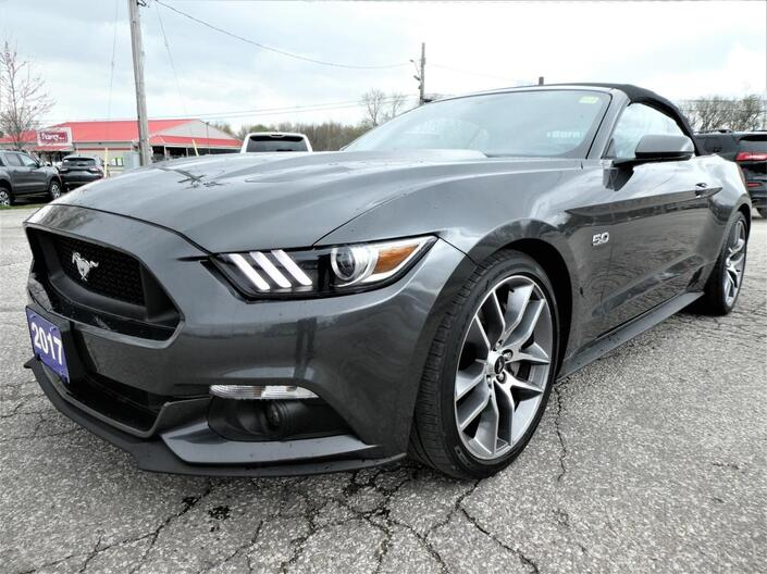 2017 Ford Mustang GT Premium | Cooled Seats | Convertible | Navigation Essex ON