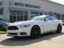 2017_Ford_Mustang_GT Premium Coupe LEATHER, ROUSH EXHAUST, NAVIGATION, BLIND SPOT, 'SHAKER' SOUND, UNDER FACTORY WARRA_ Plano TX