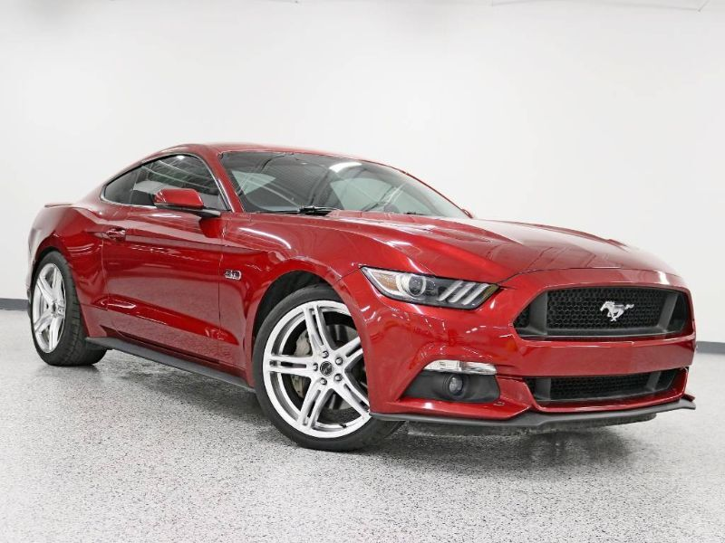 2017 Ford Mustang GT Premium Leather Auto Back Up Camera Fully Loaded Carfax Certified Hickory Hills IL